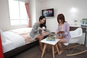 Frame Hotel Sapporo, Hotel low cost  Sapporo - big - 78