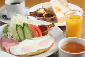 Frame Hotel Sapporo, Hotel low cost  Sapporo - big - 44