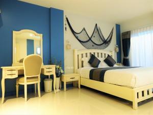 Ancora Blu Boutique Hotel B&B, Отели  Ао Нанг Бич - big - 2