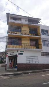 The Quito Guest House with Yellow Balconies