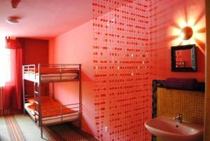 Čtyřlůžkový pokoj se sprchou