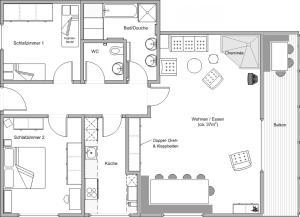 Arcula, Апартаменты  Флимс - big - 5