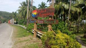 ทางเข้า Babak Bungalows Surf and Yoga Resort
