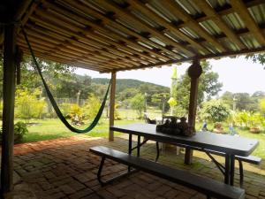 Rancho Hostal La Escondida Eco Park, Bed & Breakfast  Teopisca - big - 64