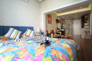 Yijia Nascent State International Service Apartment, Апартаменты  Пекин - big - 5