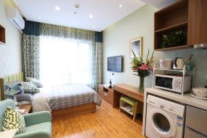Yijia Nascent State International Service Apartment, Апартаменты  Пекин - big - 25