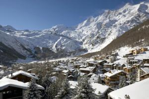 Chalet Marmottes, Chalets  Saas-Fee - big - 13