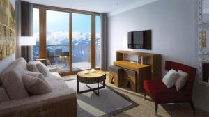 Appart'Hotel Odalys Prestige Eden, Aparthotels  Arc 1800 - big - 19