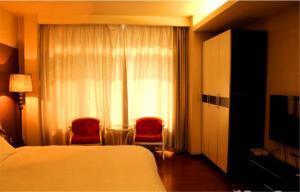 Tianjin Jinta International Xinyueyuan Hotel Apartment, Apartmány  Tianjin - big - 37