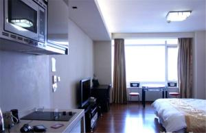 Tianjin Jinta International Xinyueyuan Hotel Apartment, Apartmány  Tianjin - big - 39
