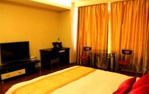 Tianjin Jinta International Xinyueyuan Hotel Apartment, Apartmány  Tianjin - big - 41