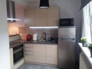 Apartament Heweliusza, Apartmanok  Gdańsk - big - 9