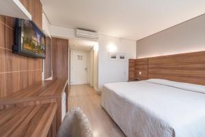 Hotel Laghetto Viverone Bento, Hotels  Bento Gonçalves - big - 5