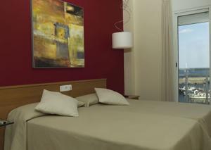 Hotel Roca Plana, Hotely  L'Ampolla - big - 2