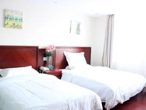 (GreenTree Inn Anhui Bengbu Huaishang District Government Express Hotel)