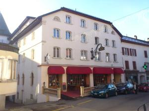 Hôtel d'Espagne, Апартаменты  Сент-Круа - big - 8