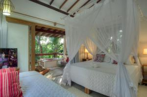 Casa Natureza Brasil Guest House, Penzióny  Arraial d'Ajuda - big - 22