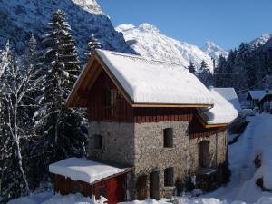 Bourg d'Oisans Studio, Alpesi faházak  Le Bourg-d'Oisans - big - 8