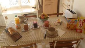 B&B Edelweiss Et Mandarine, Bed & Breakfast  Lione - big - 17
