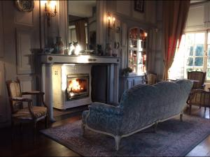 Le Logis d'Equilly, Bed and Breakfasts  Équilly - big - 32