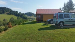 Domki w Zawozie nad Soliną, Horské chaty  Zawóz - big - 26