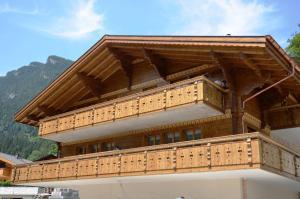 Apartment Adagio EG links - GriwaRent AG - Grindelwald