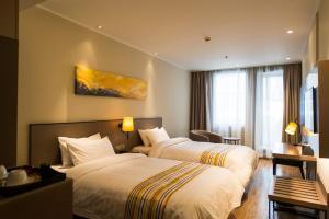 Home Inn Plus Shanghai Pudong Airport Chuangsha Metro Station, Hotely  Šanghaj - big - 17