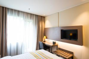 Home Inn Plus Shanghai Pudong Airport Chuangsha Metro Station, Hotely  Šanghaj - big - 7