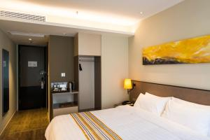 Home Inn Plus Shanghai Pudong Airport Chuangsha Metro Station, Hotely  Šanghaj - big - 18