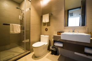 Home Inn Plus Shanghai Pudong Airport Chuangsha Metro Station, Hotely  Šanghaj - big - 8