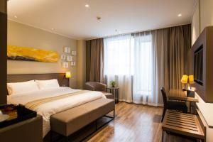 Home Inn Plus Shanghai Pudong Airport Chuangsha Metro Station, Hotely  Šanghaj - big - 9