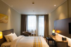 Home Inn Plus Shanghai Pudong Airport Chuangsha Metro Station, Hotely  Šanghaj - big - 20