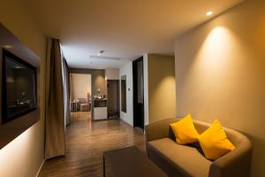Home Inn Plus Shanghai Pudong Airport Chuangsha Metro Station, Hotely  Šanghaj - big - 12