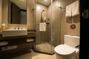Home Inn Plus Shanghai Pudong Airport Chuangsha Metro Station, Hotely  Šanghaj - big - 14