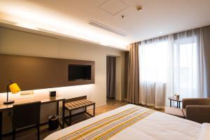 Home Inn Plus Shanghai Pudong Airport Chuangsha Metro Station, Hotely  Šanghaj - big - 3