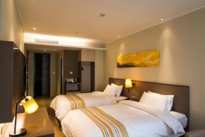 Home Inn Plus Shanghai Pudong Airport Chuangsha Metro Station, Hotely  Šanghaj - big - 16