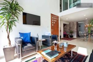 Duplex Penthouse Zona Rosa, Апартаменты  Мехико - big - 12