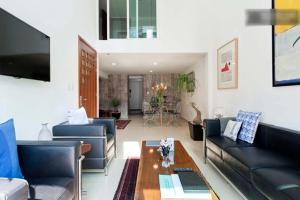Duplex Penthouse Zona Rosa, Апартаменты  Мехико - big - 15