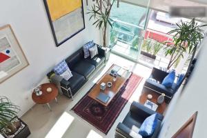 Duplex Penthouse Zona Rosa, Апартаменты  Мехико - big - 9