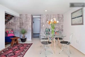 Duplex Penthouse Zona Rosa, Апартаменты  Мехико - big - 27