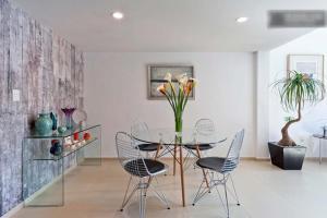 Duplex Penthouse Zona Rosa, Апартаменты  Мехико - big - 8