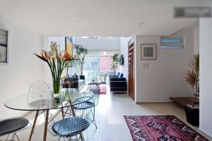Duplex Penthouse Zona Rosa, Апартаменты  Мехико - big - 24
