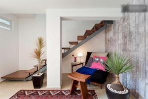 Duplex Penthouse Zona Rosa, Апартаменты  Мехико - big - 25