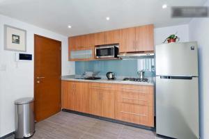 Duplex Penthouse Zona Rosa, Апартаменты  Мехико - big - 21