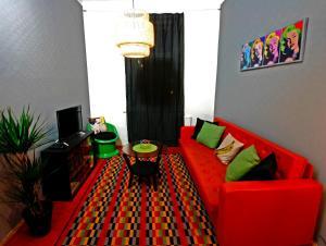 Stylish Pop Art Apartment