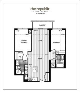 Republic on Roehampton Avenue - Furnished Apartments, Апартаменты  Торонто - big - 2