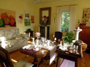 Romantikzimmer im Antiquariat
