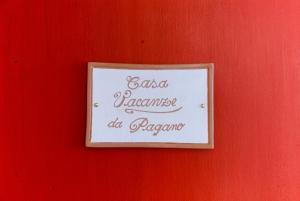Casa Vacanze Da Pagano