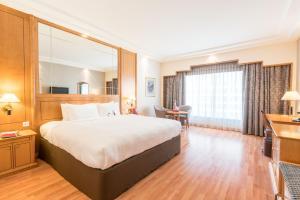 Executive Zimmer mit Kingsize-Bett und Zugang zur Lounge - Raucher