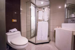 Motel Harbin Conference and Exhibition Centre Gongbin Road, Отели  Харбин - big - 13